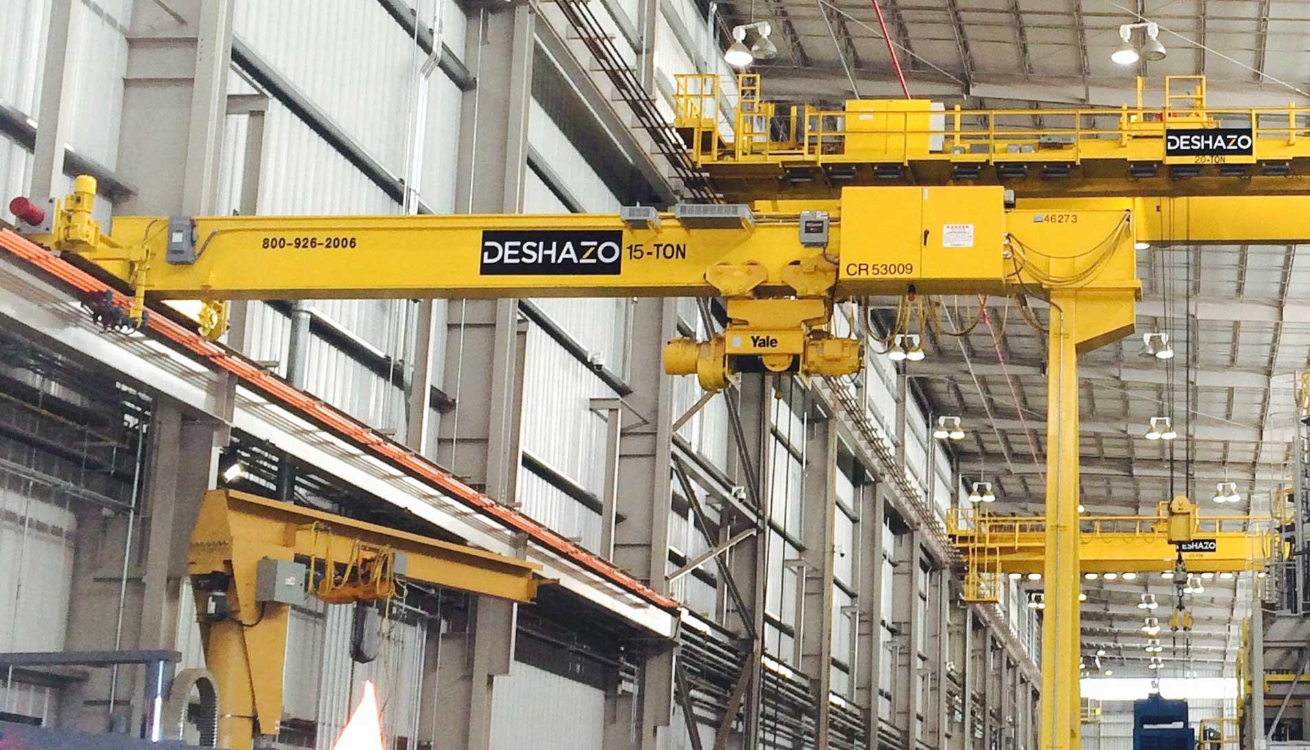 Cranes | DESHAZO: Overhead Cranes, Automation, and Service